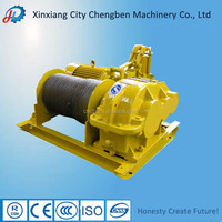 Powerful electric winch with famous motor