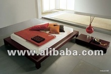 Traditional Indian Bed with A Modern Look