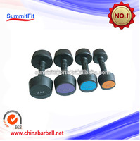 Dumbbell/fixed rubber dumbbell/rubber coated dumbbell/indoor gym equipment