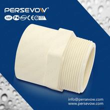 Different colors large diameter pvc pipe fittings with rubber OEM and Low MOQ