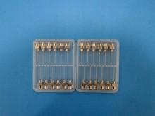 plastic transparent small box/ Stainless steel needle/knitting needle box