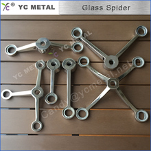 304 Stainless Steel One Arm Stain Curtain Wall Spider For Glass