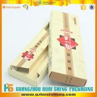 Eco-friendly cardboard box /corrugated cardboard scissor packaging thin box