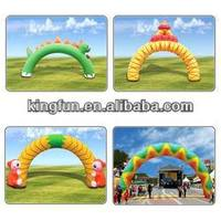 2013 HOT-selling colorful inflatable arch for promotion