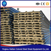 Wall pu sandwich panel for container house