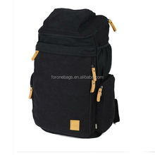 New arrival canvas backpack camping bag / hot selling hiking bag