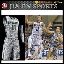 Best wholesale blank latest basketball jersey design,cheap reversible philippines custom camo womens baskteball uniform