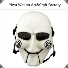 High quality mens halloween terrible mask horror saw cosplay mask
