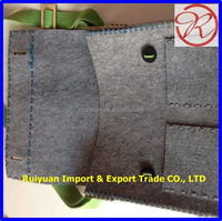 Recycled polyester felt laptop bag
