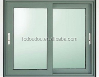 2015 New Design Insulated Glass Aluminum Windows With Internal Blinds For Home NZ Fodoudou Aluminium Sliding Window