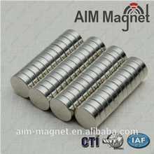 Custom shapes cheap strong rare earth 12x3mm neodymium magnets