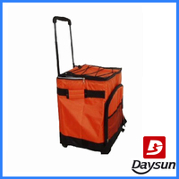 trolley insulated cooler bag for frozen food