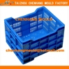 2015 plastic collapsible plastic crates manufacturers for vegetable selling (good quality)