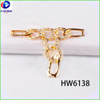 HW6138 renqing factory shoe collection new mode silver italian shoe jewel