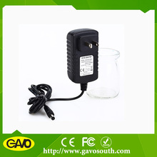 Wall mount power supply 9v 2400ma video power adapter