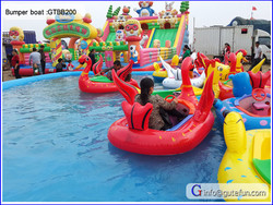 inflatable aqua park games inflatable boat kids