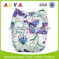New alva baby fraldas de pano nice hot baby diaper girls sweet diaper girl