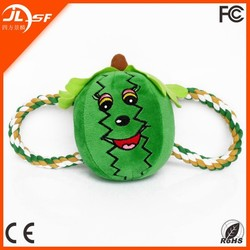 Pet Dog Cat Toy Cute Fruit Shaped Dog Toy Watermelon Pet Plush Toy From China