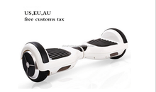 2015 New design self balancing scooter 2 wheel self balancing smart scooter China price