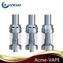 Top airflow adjustable full stainless steel rebuildable cig atomizer (IJOY ACME VAPE)