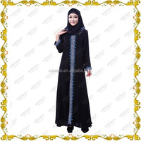 MF21340 2015 Muslim long dress & black abaya in india