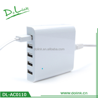 Multi-Port USB Charger AC adapter power travel charger for mobile phone