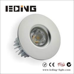 LED Downlight Kit 12W 7W Aluminum die casting housing with flex and plug fitted for Australian market
