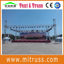 Aluminum global truss roof truss system design for hanging speakers outdoor