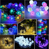 solar outdoor decorate lights for christmas holidays, led festoon lighting