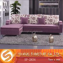 Shungdi Modern Designs Fabric Living Room Sofa