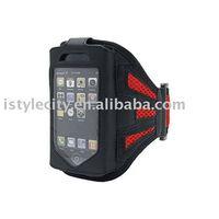 Mesh Sport Armband Neoprene Sleeve for iPhone 4