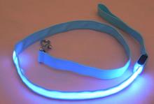 New arrival Wholesale Dog Leash Lead/ Pet Collar Flashing LED Lighted Dog Lead, Dog Harness/Pet Leashes