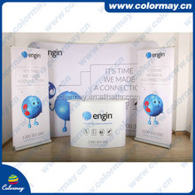 cost effective customized wide base roll up banner stand