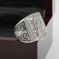 SJ SJMC085 NHL 2010 CHICAGO BLACKHAWKS STANLEY CUP Championship Replica Ring with Wooden Box for Men as Gift