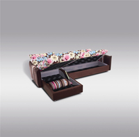 100% Natural Factory Offer Fabric sofa bed with drawer A12#