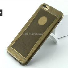 Ultra Thin glitter dust plug TPU case For iphone6 4.7inch