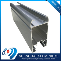 Easy installation high tensile strength aluminum profile used for windows