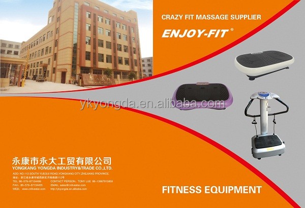 FITNESS EQUIPMENT CRAZY FIT MASSAGE WITH MP3 VIBRATION PLATE confidence fitness fit massage