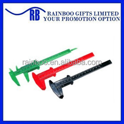 Hot selling top quality promotional eco-friendly plastic vernier calipers for school