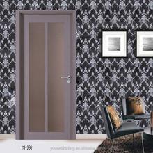Made in China Cheap Wood Main Door Models / PVC Door/Hotel Door
