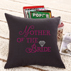 Mother of the bride design sleeping pillow for wedding decoration