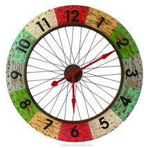well selling modern decoration round metal wall clock