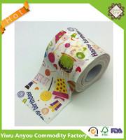 Custom standard toilet paper roll , 2 ply core 100% virgin wood pulp bathroom tissue