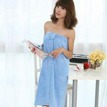 high quality and low price customize logo microfiber bath robe towel china