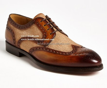 Young man Leather shoes