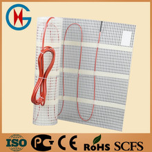 CE fast to fit heat melting cable system have sotck underfloor heating mat heating mat system