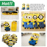 Minion Despicable Me Silicone Animal Shaped Case Shockproof Cover for LG G3