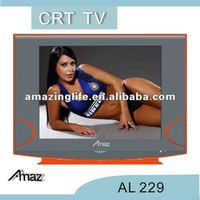 21 inch crt tv with rotating base piano painting