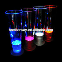 led flashing shot glass