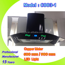 Newly Design Range Hood With Copper Wire Motor